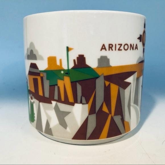 Starbucks ceramic Mug YAH. Arizona  16 oz